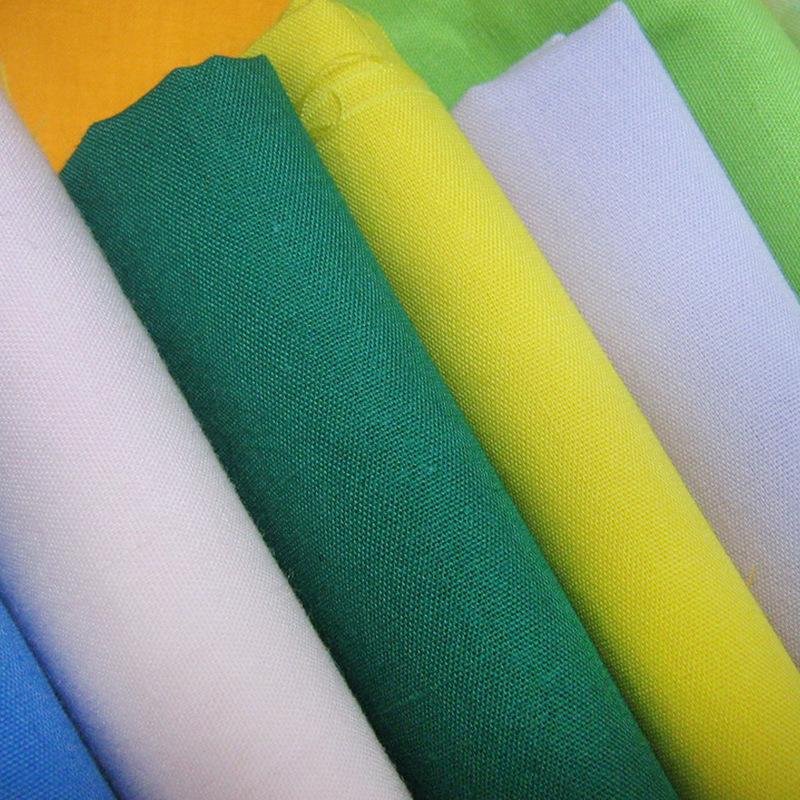 BAOSHENG Vải lót Phân phối chuyên nghiệp bông cotton tc pha trộn nhuộm áo poplin túi vải quần áo lót