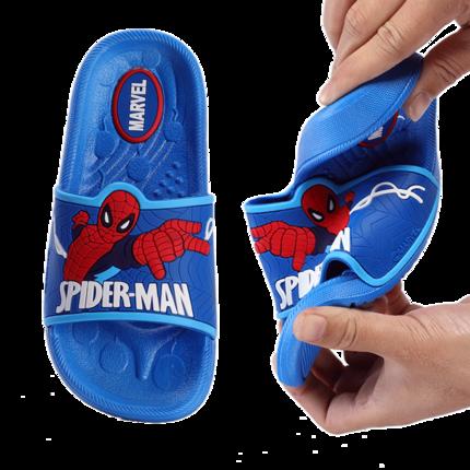 dép trẻ em  Dép trẻ em mùa hè bé trai người nhện trong nhà chống trượt trẻ em lớn trẻ em trẻ em dép