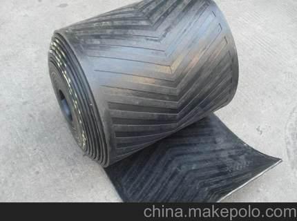 dây đai cao su Băng cao su xương cá băng tải Băng tải mô hình lõm Băng tải chống trượt Băng vải bông