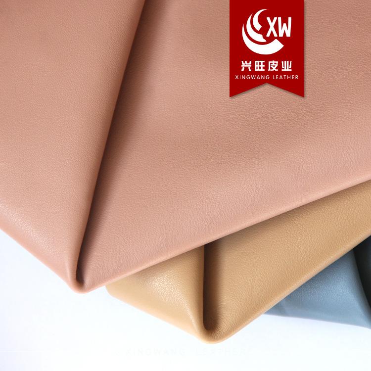 XINGWANG Da bò [Da thịnh vượng] Kim Ngưu * da bò cao cấp Napa 1.2-1.4mm chất lượng cao * dệt trơn mà
