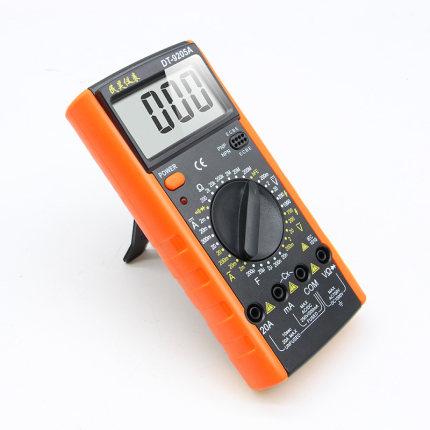 BONDHUS Đồng hồ đo điện Đồng hồ vạn năng kỹ thuật số chống cháy DT9205A