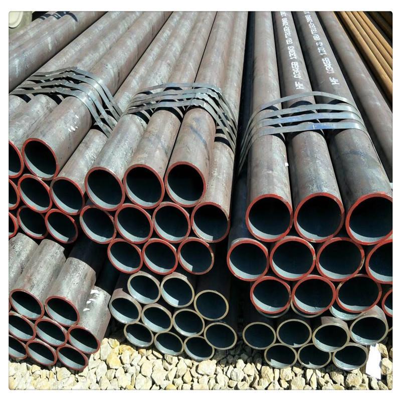 Ống thép Nhà máy tại chỗ bán trực tiếp cán nóng 30 * 5 20 # thép liền mạch 60 * 5 89 * 5 ống thép li