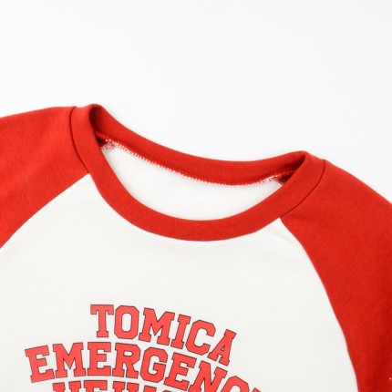 TOMICA  Đồ ngủ trẻ em Kids '/ Boys' / Girls '(UT) TOMICA Ultra Stretch Set