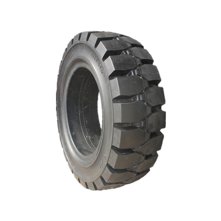 QINQIN Cao su(lốp xe tải) 28 * 9-15 xe nâng ba tấn bánh trước 650-10 xe nâng ba tấn bánh sau lốp rắn