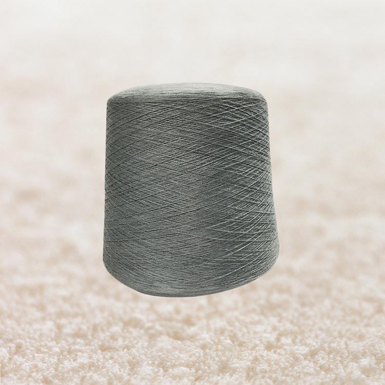 CHUNXING Sợi bông Bán buôn sợi đuôi sợi bông sợi 40S / 2 phần tre Bông màu xám Baolan đốm đen