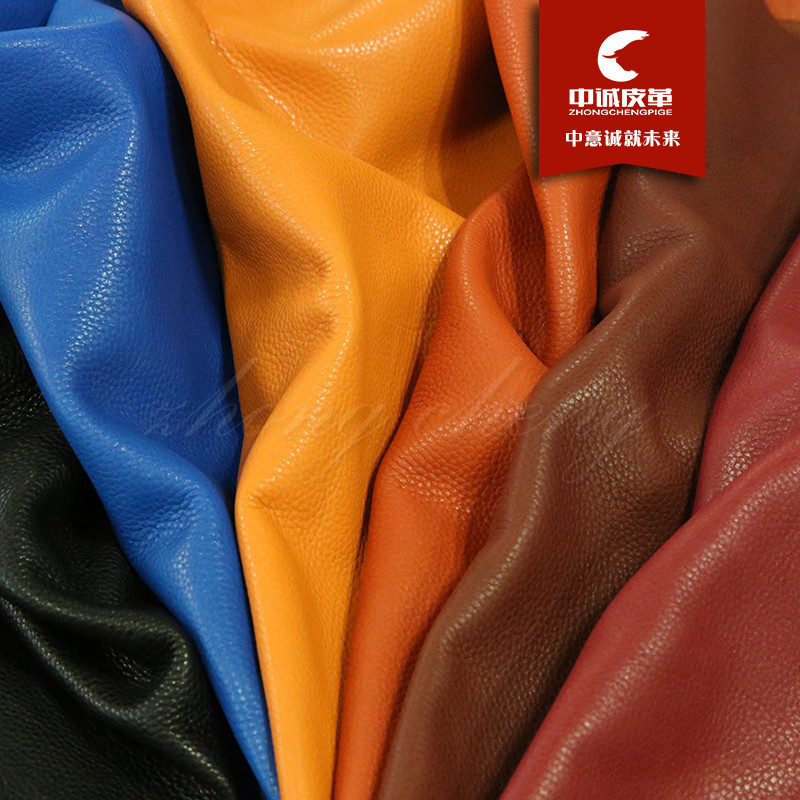 Da bò Vụ nổ trực tiếp bán dầu sáp vải thiều mẫu đầu lớp da bò sofa da túi vải da mềm da
