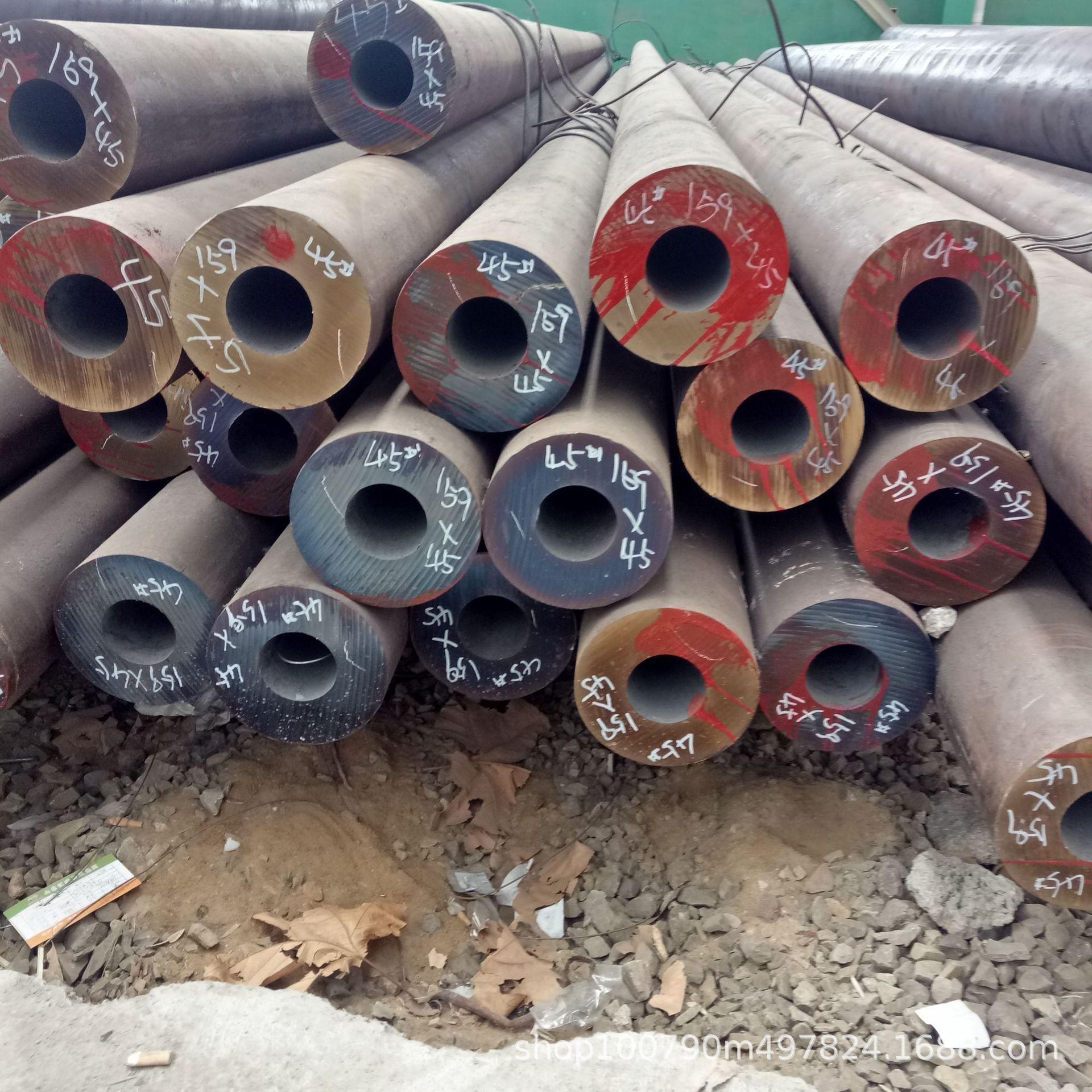 Linh kiện sắt thép Nhà máy bán trực tiếp ống hợp kim 15crmo, ống thép hợp kim đường kính lớn, ống th