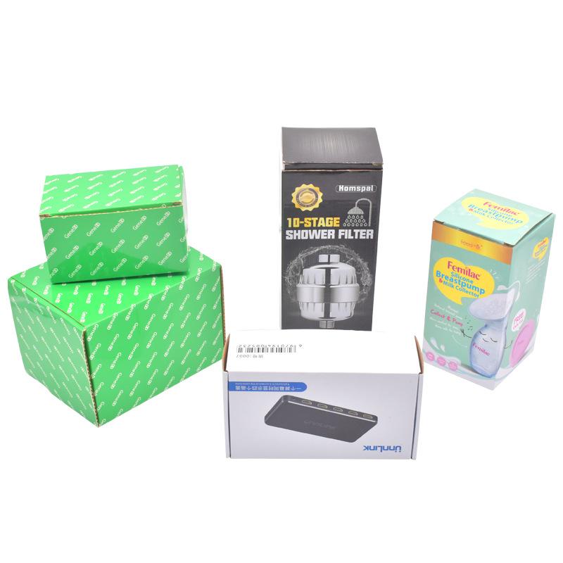 FUSHIFU Đóng gói In ấn và đóng gói nhà máy sản phẩm kỹ thuật số tùy chỉnh sóng nhỏ carton cần thiết