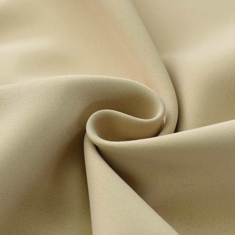 Vải lót Màu rắn độ chính xác cao vải bóng màu đen cách nhiệt vải rèm vải bán buôn cắt rời