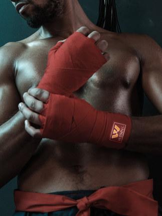 Jiujinshan thắt dây JiujinshanBăng Boxing 5 mét 3 Băng thể thao Muay Thái Handband Sanda Tay bảo vệ