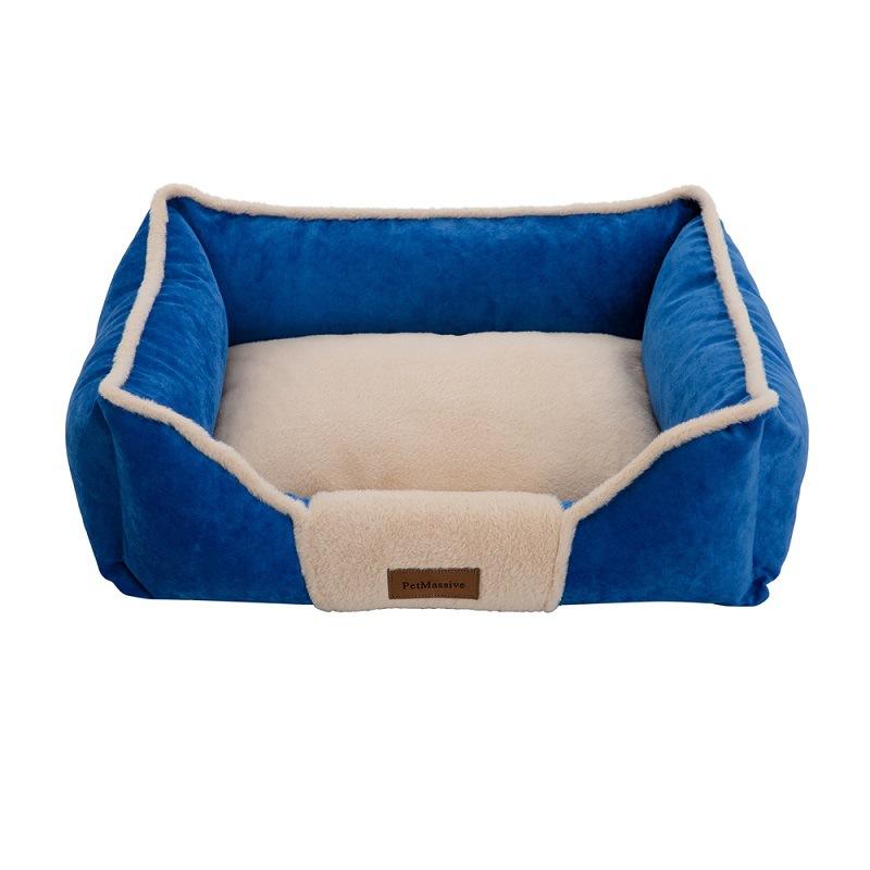 PetMassive Vật nuôi Mùa đông ấm có thể tháo rời và có thể giặt được cũi mèo kennel PetMassive nhà má