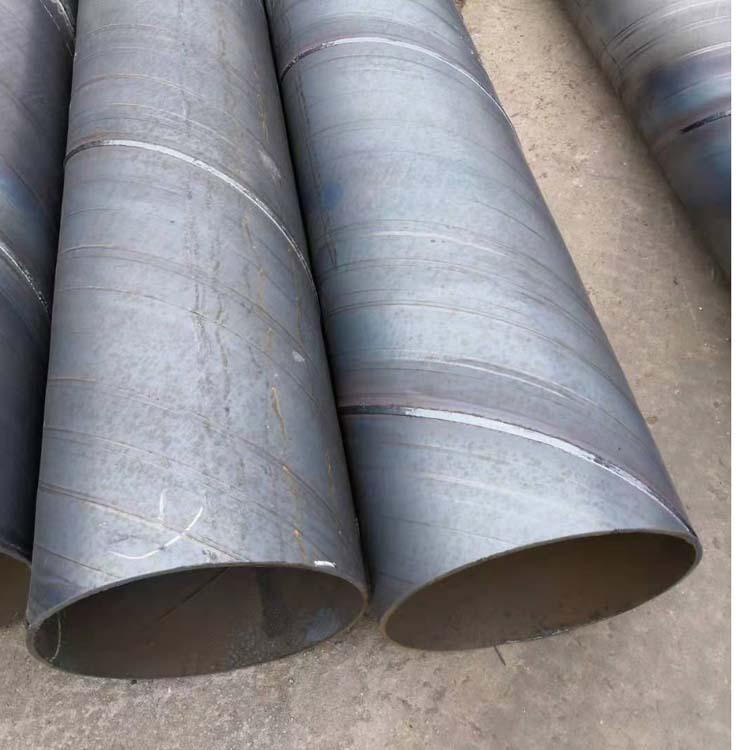 Ống thép Ống xoắn ốc tại chỗ Q235B ống thép xoắn ốc có thành dày đường kính 1820 * 8 ống xoắn ốc tru