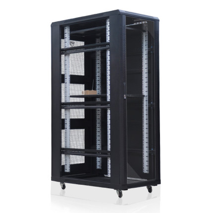 LAIE  Cán nguội Tủ lạnh cán chất lượng cao 1.8m tủ máy chủ 1800 * 600 * 1000 tủ máy chủ 37u tủ sang