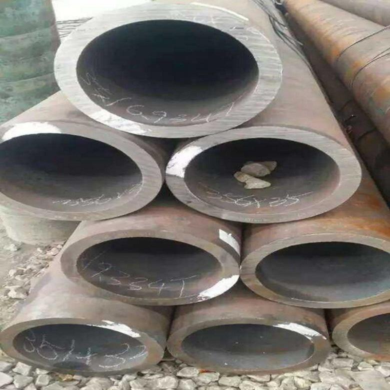 Ống thép Nhượng quyền Q345B ống thép liền mạch chứng khoán tại chỗ thông số kỹ thuật hoàn chỉnh liền