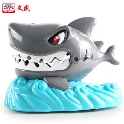 Wensheng Đồ chơi khăm Wensheng 5359 Đồ chơi cá mập lớn Xương xương Cẩn thận với cá mập cắn ngón tay