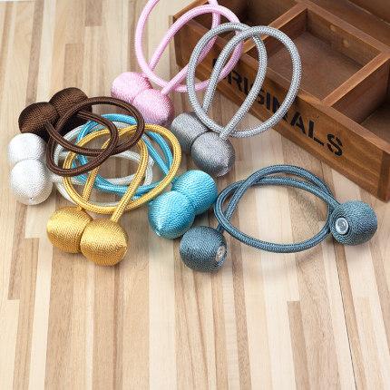 thắt dây Rèm dây đeo một cặp dây buộc không dây buộc dây đeo nam châm đơn giản và hiện đại sáng tạo