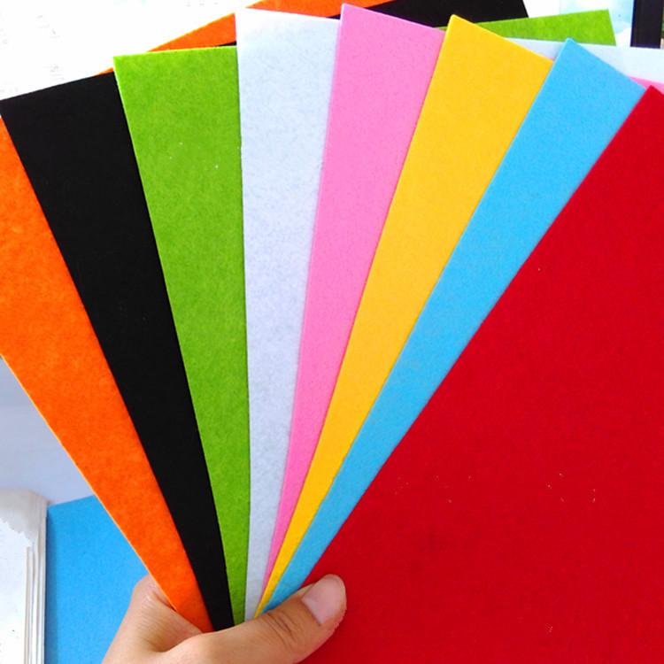 Vải không dệt Vải nền không dệt Halberd 1mm2mm3mm DIY trẻ em làm bằng tay vải nỉ