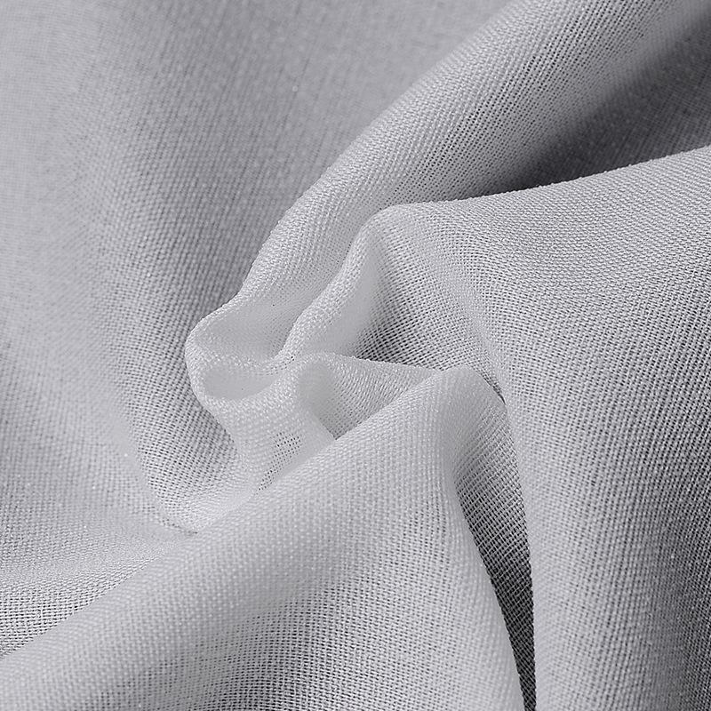 LIFUTE Vải lót Các nhà sản xuất cung cấp dài hạn các phụ kiện quần áo 50D xen kẽ màu trắng
