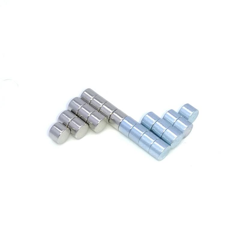 Sắt từ Nhà máy trực tiếp bán neodymium sắt boron nam châm tròn cường độ cao 4 * 3 hành lý đồ chơi đụ