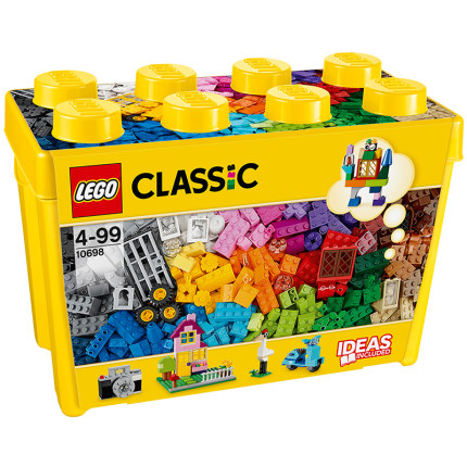 LEGO Thị trường đồ chơi  Kaizhile LEGO hộp khối xây dựng sáng tạo cổ điển 10698 hạt chèn đồ chơi trẻ