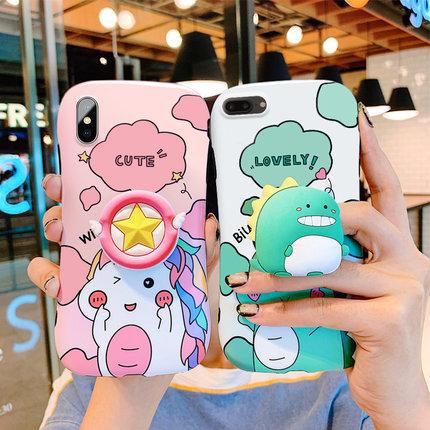 Aigo / Ốp lưng Iphone 6 Apple x điện thoại di động vỏ iphone8plus phim hoạt hình apple xr apple 7plu