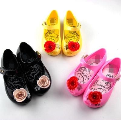 BBJ dép trẻ em Dép hoa hồng thạch mới trẻ em dép dép trẻ em dép cha mẹ trẻ em dép công chúa