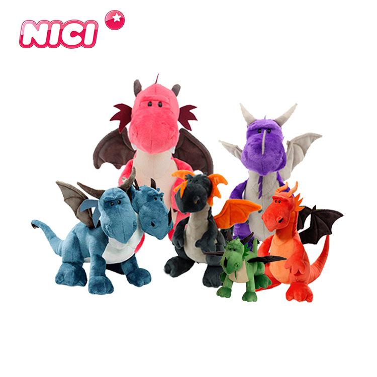 NICI Thị trường đồ chơi Khủng long đồ chơi sang trọng khủng long tyrannosaurus đôi búp bê búp bê búp