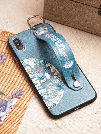 Ốp lưng Iphone 6 Vỏ điện thoại di động iphone11 nữ apple x Trung Quốc 11Pro cá tính 11ProMax dây buộ