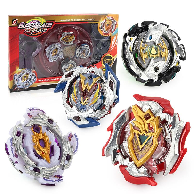 Chengke toys Bông vụ Burst đồ chơi con quay hồi chuyển 4 trong 1 con quay hồi chuyển con quay kéo ta