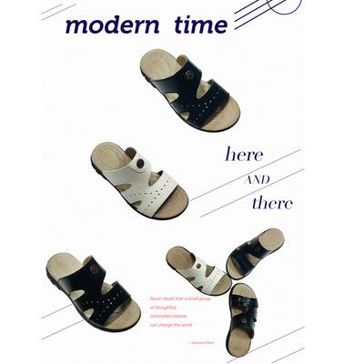 dép trẻ em Giày dép trẻ em lỗ lỗ 20 mùa hè mới thời trang mát-xa giản dị giày chống trượt