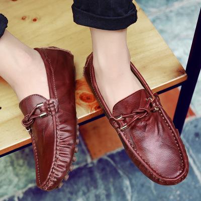 Giày mọi Gommino Giày Peas giày da nam
