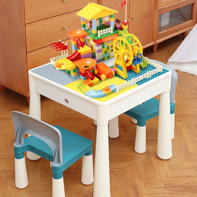 MENGBAOBAO Thị trường đồ chơi Câu đố 3-10 tuổi nam và nữ trẻ em lắp ráp món quà sinh nhật đa năng Mo