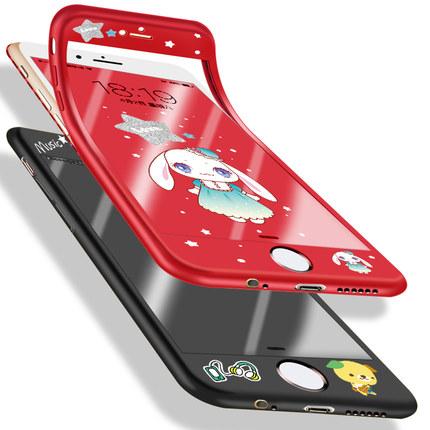 Nohon /Ốp lưng Iphone 6 Ốp lưng silicon iphone6 cho điện thoại di động chống rơi toàn diện 6s viền