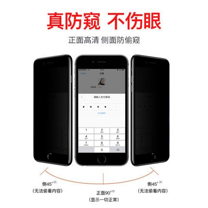 Miếng dán màn hình Iphone 6 Kính cường lực chống trộm Apple 6 iphone6 / 7 / 8plus Phim chống trộm 6