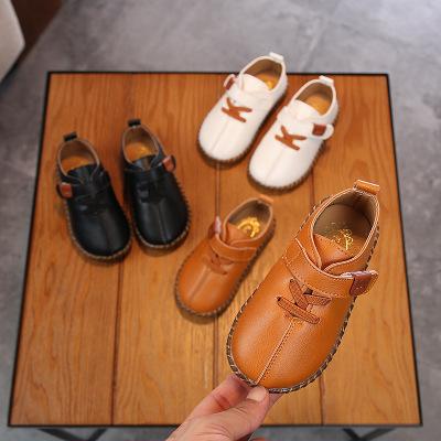 Giày mọi Gommino 2020 xuân mới bé beanie giày bé trai giày thông thường giày da nhỏ đế mềm đế mềm ch