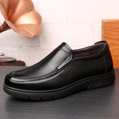 Giày mọi Gommino Mùa thu mới kinh doanh giày thường giày da nam da dày dày trung niên giày đế mềm đế