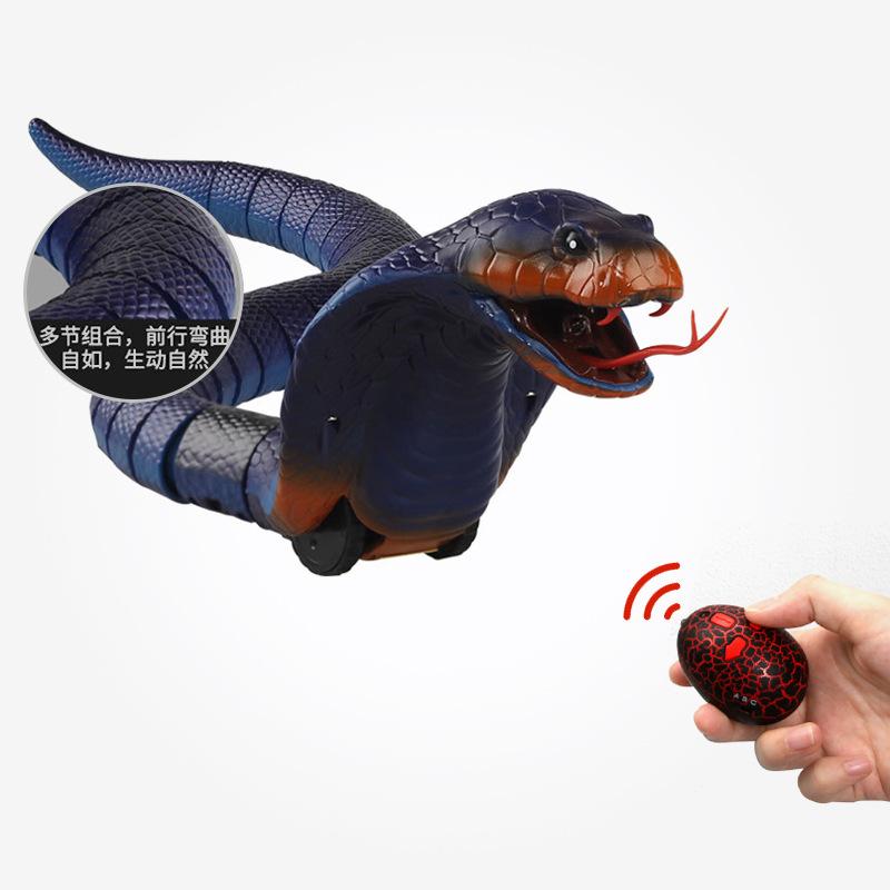 Chengke toys Đồ chơi khăm Đồ chơi Tricky mới Đồ chơi mới lạ Điều khiển từ xa Rắn chuông Điều khiển t