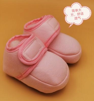 dép trẻ em Nhà máy sản xuất giày dép cotton cho bé mùa xuân trực tiếp đặc biệt Velcro không thể đánh