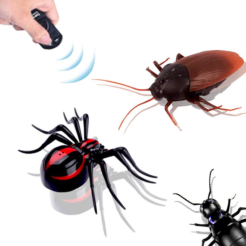LIMINGJIA Đồ chơi khăm Mô hình vụ nổ Đài Loan điều khiển từ xa gián / nhện / kiến