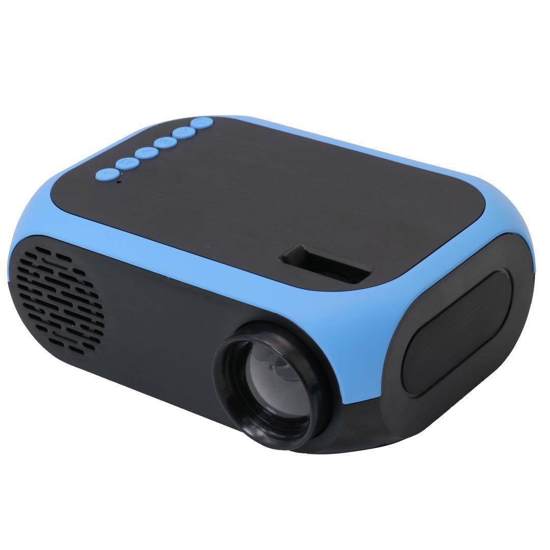 BOKK Máy chiếu 2019 Mini 1080 HD Máy chiếu giải trí gia đình HDMI USB TF Máy chiếu đa phương tiện