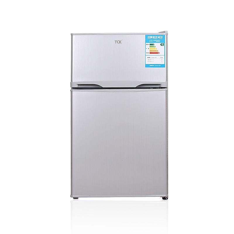 TCK Điện gia dụng chính hãng thương hiệu BC102 102 lít tủ lạnh nhỏ hai cánh tủ lạnh tiết kiệm năng l