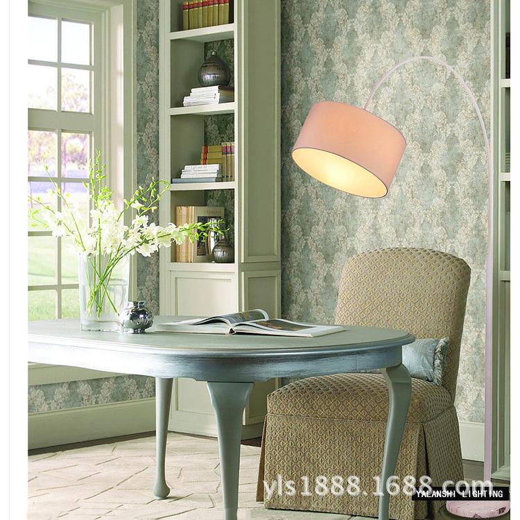 Đèn sàn hình <font color='red'>cần câu cá</font> IKEA sáng tạo tối giản hiện đại phong cách điền viên