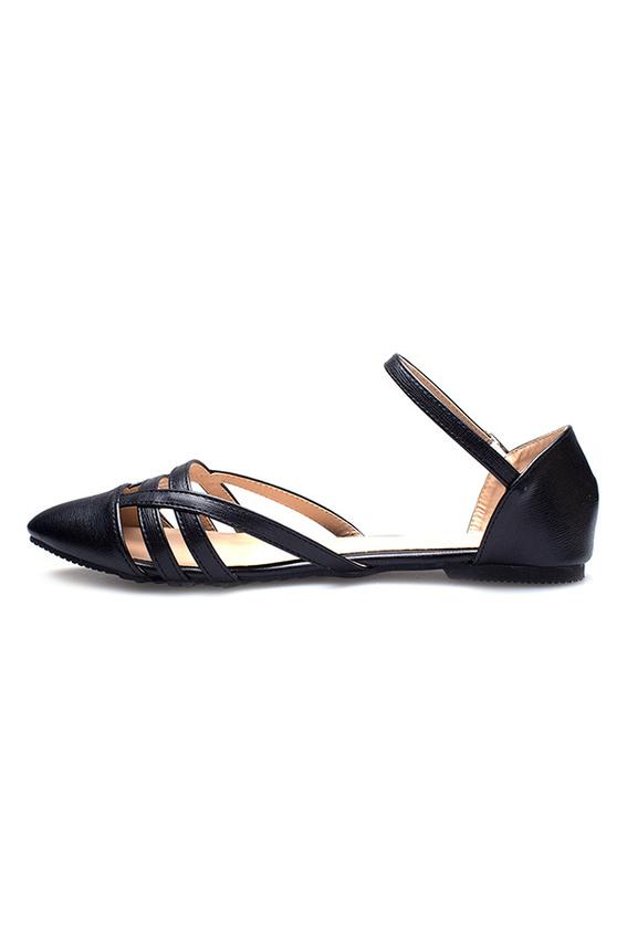 Giày búp bê Ease kiểu dây thoáng mát thời trang cho nữ .