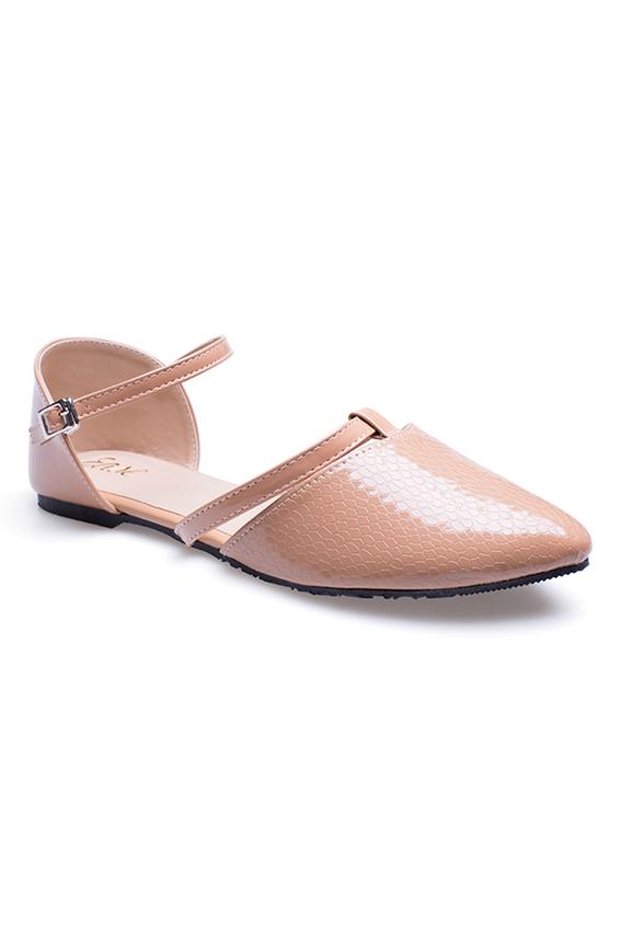Giày búp bê mũi nhọn Ease kiểu dáng thời trang cho nữ .