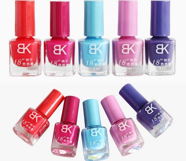 Hàng chính hãng giá gốc  Cheap wholesale authentic BK nail polish nude color candy-colored nail poli