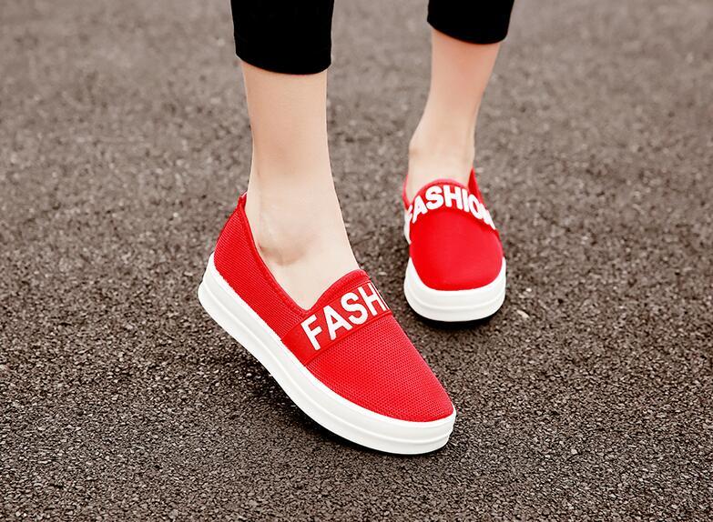 Giày lười vải lưới Fashion thời trang, thoáng mát