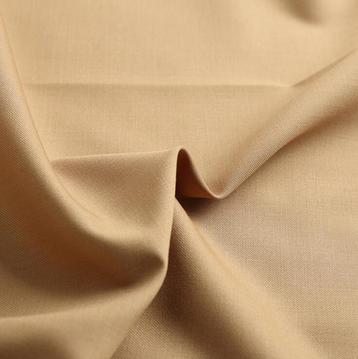 Vải pha sợi Factory direct serge Serge tr fabric suit fabric wholesale fine imitation wool serge