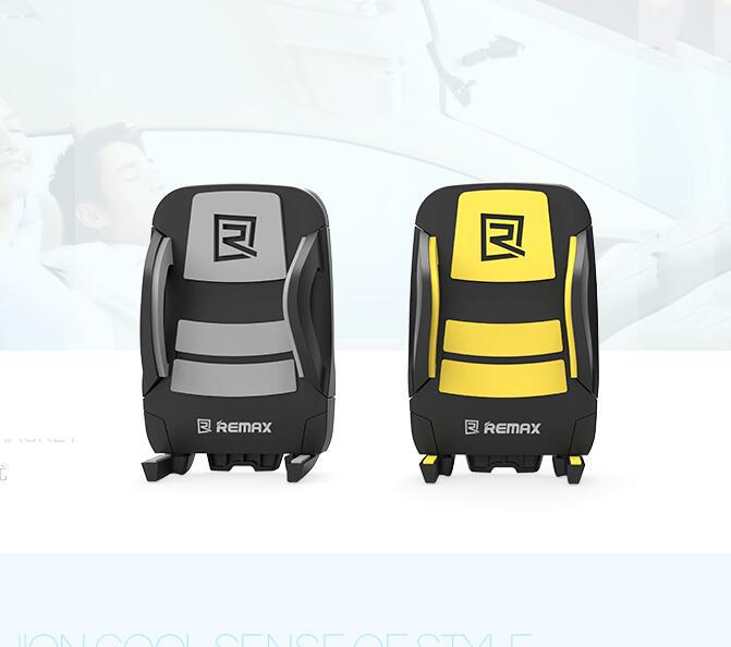 Thị trường đồ điện tử định vị  REMAX mobile phone holder car outlet seat bracket Samsung Apple univ