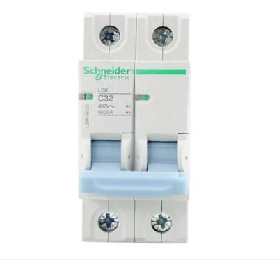 Schneider air switch 2P 16a ~ 63a vacuum DC household electrical appliances LS8 small circuit breake