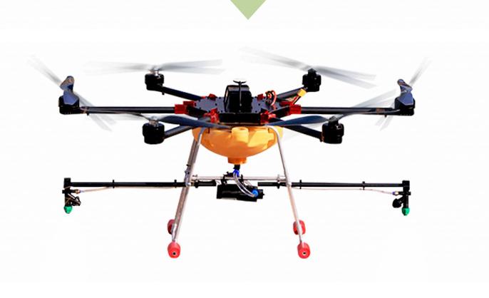 Nhiều máy bay không người lái điều khiển từ xa 5KG rotor nông nghiệp nông dân sự phun thuốc bảo vệ t